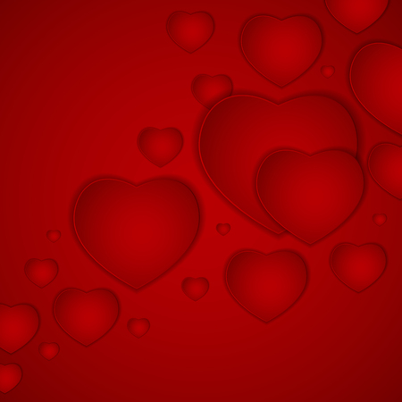 background picture: St Valentines  Day Greeting Card Vector Illustration EPS10 Illustration