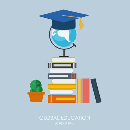 onderwijs: Global Education Concept. Trends en innovatie in het onderwijs.