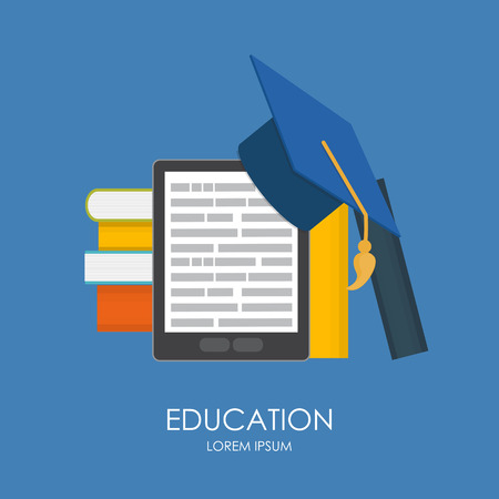 education concept: Business Education Concept. Trends and Innovation in Education.
