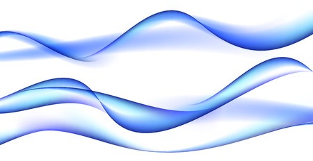 white wave: Abstract  Wave on White Background.