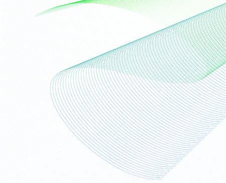 white wave: Abstract Wave Set on White Background.