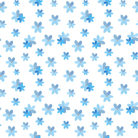 simple flower: Abstract Simple Flower Seamless Pattern Background EPS10 Illustration