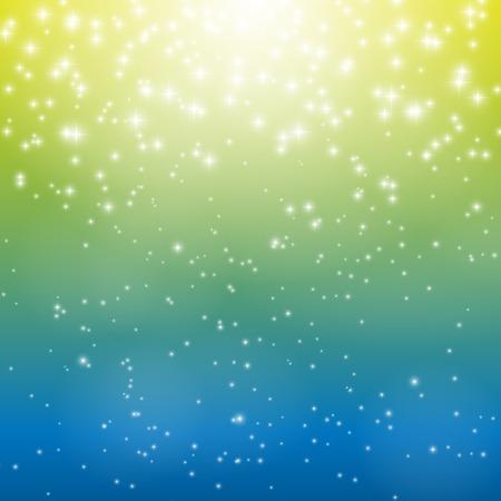 nigth: Star Sky Vector Illustration Background EPS10