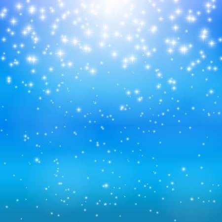 star sky: Star Sky Vector Illustration Background EPS10