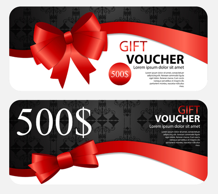 blank gift tag: Gift Voucher Template For Your Business.