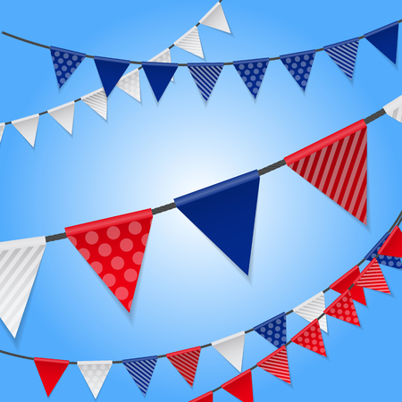 party background: Party Background with Flags