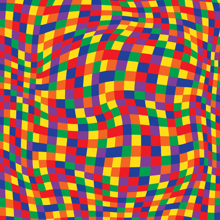 hypnotic: Black and White Hypnotic Background Seamless Pattern. EPS10