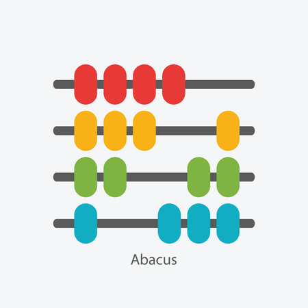 Abacus Sign Symbol Icon Vector Illustration EPS10