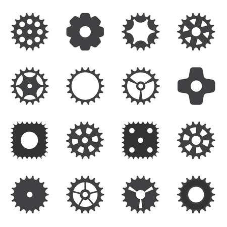 cogwheel: Machine Gear Wheel Cogwheel. Vector illustration. EPS10