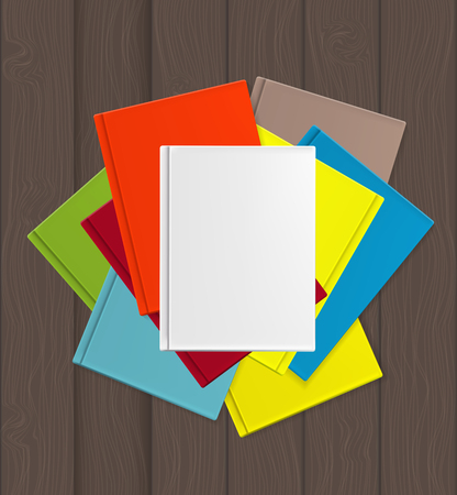 the superiority: Superiority E-Book Over Paper Books Concept Vector illustration. EPS10