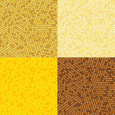 radius: Circle Radius Abstract Golden Background Illustration