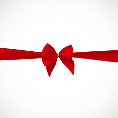 aids awareness ribbon: Gift Card with Red Ribbon and Bow.