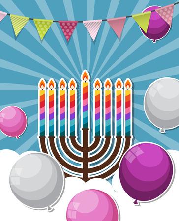 gelt: Abstract Background Happy Hanukkah, Jewish Holiday.