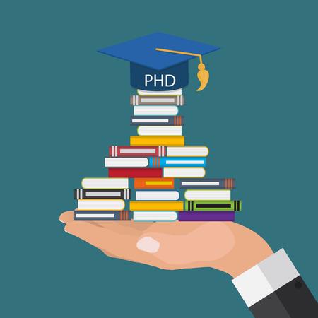 Harter und langer Weg zum Doktor der Philosophie Grad PHD