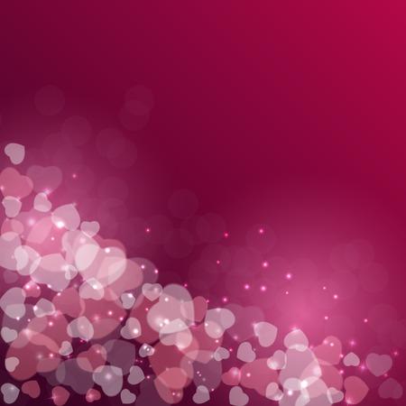 バレンタインの s 日の心のシンボルです。愛および感情の背景