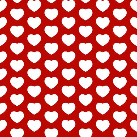 Heart Love Seamless Pattern Background Vector Illustration Illustration