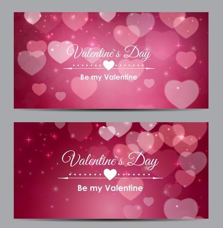 バレンタインの日の心シンボル ギフト カード愛と感情表現