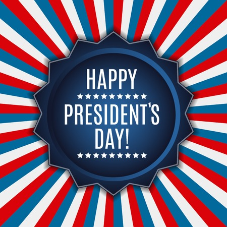 Presidents Day in USA Background. Can Be Used as Banner or Poste Illustration