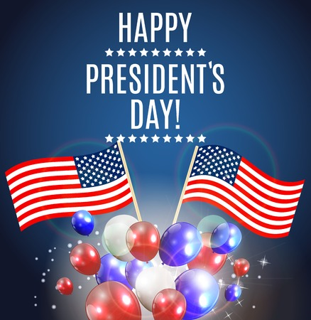 Presidents Day in USA Background. Can Be Used as Banner or Poste Stock Photo