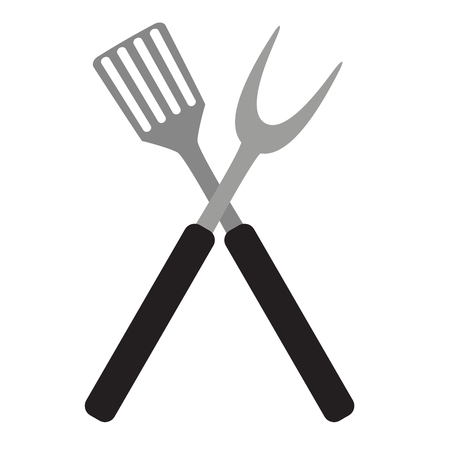 BBQ and Grill Tools. Vector Illustration Illustration