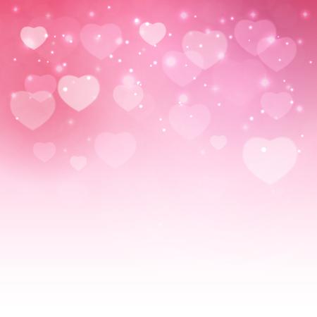 Valentines Day Heart Symbol. Love and Feelings Background Design. Ilustração