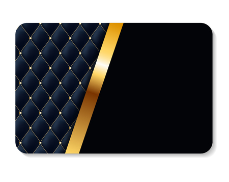 Luxury members, gift card template for your business vector illustration. Illustration