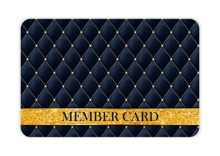 Luxury Members Card Template Illustration