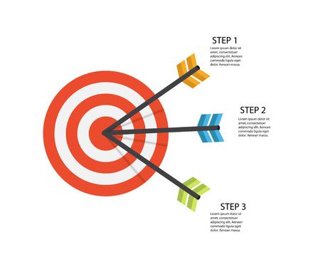 Infographic Templates for Business Vector Illustration EPS10 Foto de archivo - 123300283