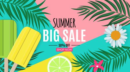 Abstract Summer Sale Background. Vector Illustration EPS10 版權商用圖片 - 122872570