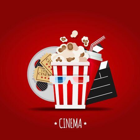 Cinema Icon Vector Illustration