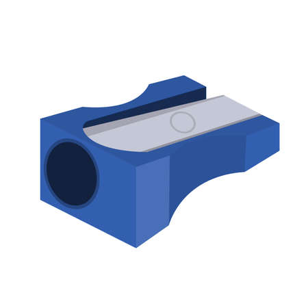 Pencil sharpener icon on white background. Vector Illustration EPS10