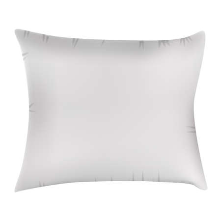 White Pillow Icon.Vector Illustration EPS10