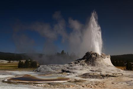 geyser and toirtoise shell pool