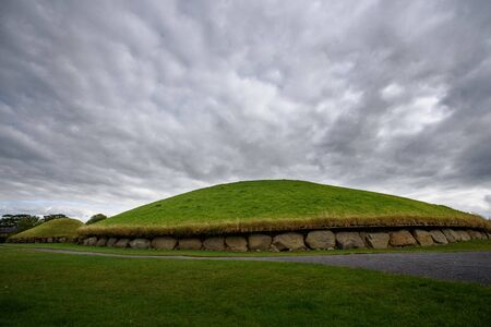 Knowth passage tomb in Bru na Boinne valley