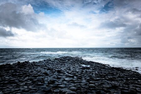 The giant causeway in Antrim