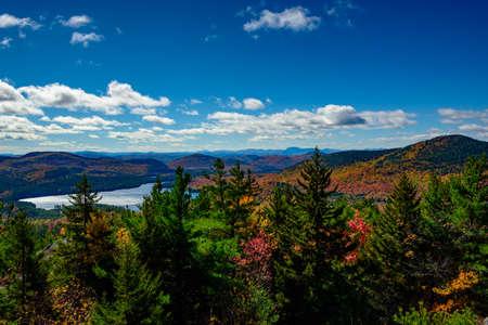 Pharaoh lake from top of Treadway mountain at fall
