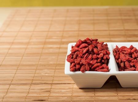 chinese wolfberry: goji berries Chinese wolfberry (Lycium barbarum)