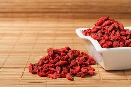goji berries Chinese wolfberry (Lycium barbarum) photo