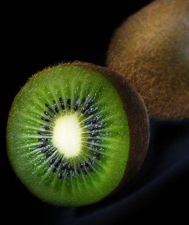 Close-up of a kiwi fruit