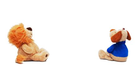 Children's toys on a white. Isolated Stock Photo - 4454744