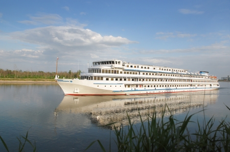 Cruise boat on the river Don, Russia Stock Photo - 13788246