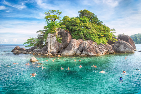 Tropical island in Thailand photo