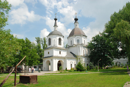 The Orthodox church in Starocherkassk, Russia. Photo taken on: June 11th, 2011