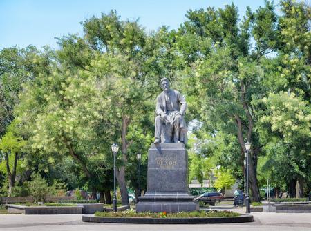anton: Anton Chekhov Monument in Taganrog, Russia