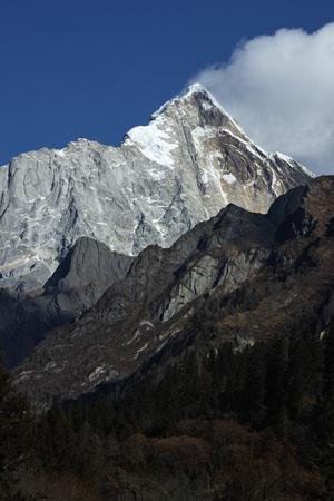 steep: the mountain peak in china