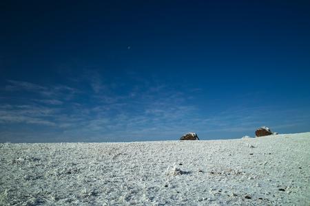 cockscomb: Yunnan zhaotong cockscomb mountains on the two rocks