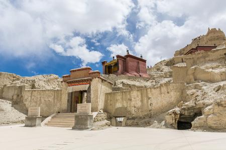 チベットの Guge 王国遺跡、チベットの ChinaKingdom 遺跡、中国