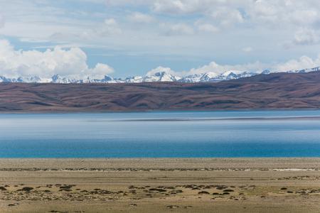 Lhanag ・ tsoof チベット、中国 写真素材