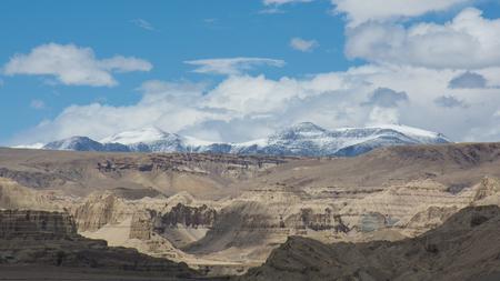 チベットの Zhada の土の森、中国