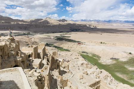中国のチベットの Guge 王国遺跡